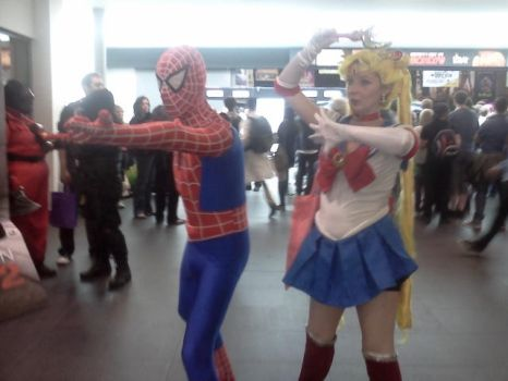 MCM - Sailor Spider! by stalydan