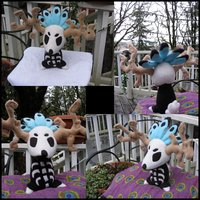 Lil' Pow Wow: Tumble Plush by crystal-kyogre