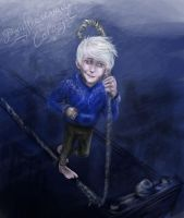 Jack Frost (Speed Painting) by AalienoOr