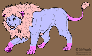 Lion Adopt 2 CLOSE by Fenere