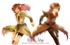 Me and Me by Etude-Xillia