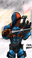 Deathstroke(Arkham Origins) by ComandanteBrasco by ComandanteBrasco