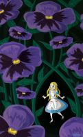 Alice in Wonderland by Schlissel-art