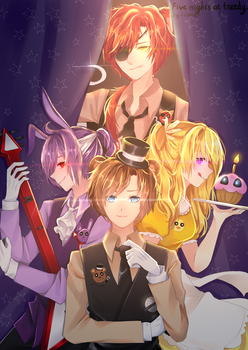 Five nights at freedy by Lilianei