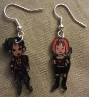 Kawaii Dragon's Age earrings by Lovelyruthie