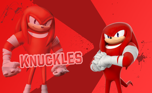 Sonic Boom Wallpaper(Knuckles V3) by Millerwireless