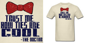 Doctor Who Bow Ties Are Cool Shirt by Enlightenup23