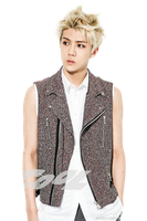 [PNG/Render] Sehun@So Cool Magazine by THAObyeons
