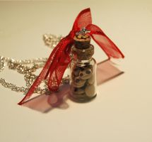 Cookie jar necklace. by BloodyAlchemist