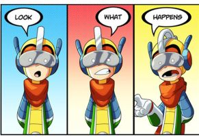Bravoman Look-What-Happens panel 1 ish... by D-Gee