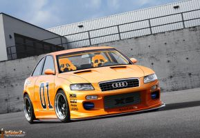 Audi A4. by FanaVR6