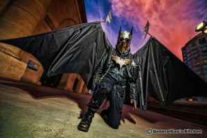 Boston Comic Con 2013 Steampunk Batman cosplay by iron-river