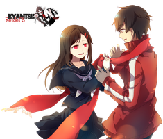 Kagerou Project [Render] by Kyantsu