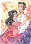 War and Peace: Lisa et Andre by Juliet-KaWaii