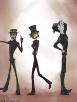 Steam Powered Giraffe: That's one big giraffe! by Fizzybopper