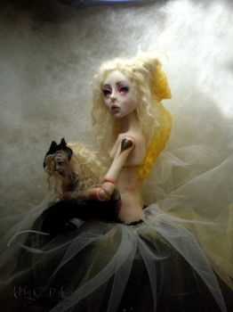 Creepy doll shop Ball jointed by cdlitestudio