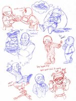 TF2 Doodles by Tattletail