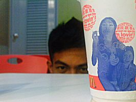 Creep in McDonalds by Emosummer