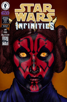 Darth Leia - Spoof cover 'Star Wars - Infinities' by Nick-Perks