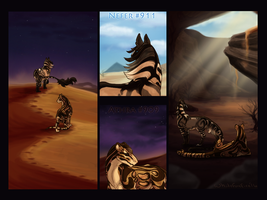 Through the Sands - Journey Trial by Whitefoxfire