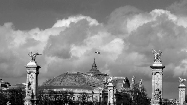 Grand Palais from Invalides by torcani