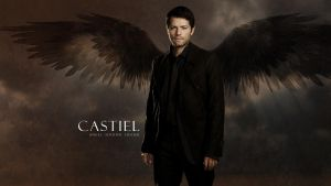 Castiel: Dark Angel by drksde