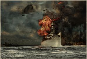 War at Sea by fotophi
