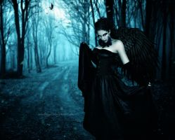 Dark Angel IX by SamBriggs