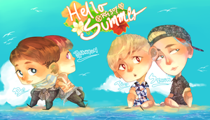 Hello Summer by rahaina
