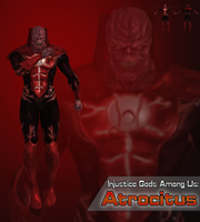 Injustice Gods Among Us: Atrocitus by XNASyndicate