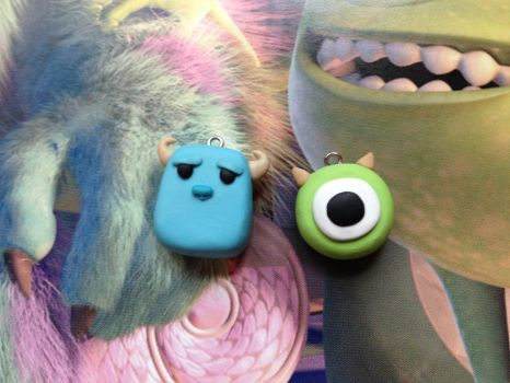 Sulley and Mike by SmileyHearts