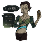 DS9 - Glain by noxfoxArts