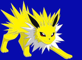 Jolteon by DragonCartoons