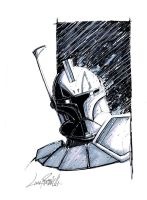 Captain Rex head sketch by LivioRamondelli