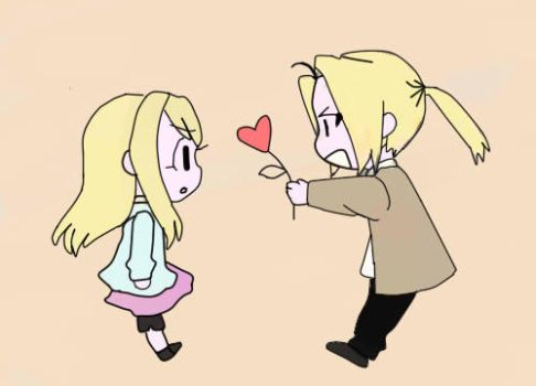 ed y winry by skypink22