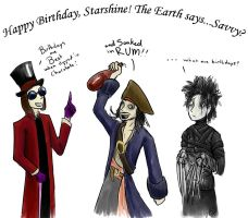 A Johnny Birthday by Lizard-of-Odd
