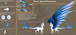 Agniya Dragon Referense Sheet 2012 by Agniya-fox