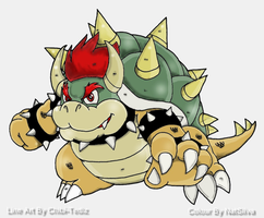 Bowser-Coloured by NatSilva