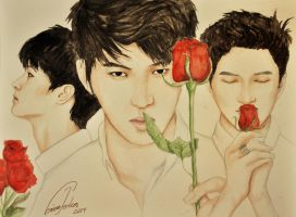 VIXX: Leo, Ken and N by TheCorinna