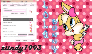 Cursor lola bunny by ziindy1993
