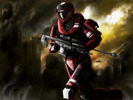 HALO Spartan Sniper request by jose144
