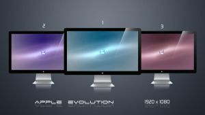 Apple Evolution - 3 Variants by LiquidSky64