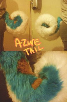 Azure Tail by MissRars