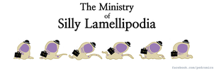 The Ministry of Silly Lamellipodia by Velica