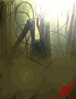 Slender Drawing animation by GZLTriforce128