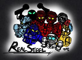 Real Steel by Ccamang