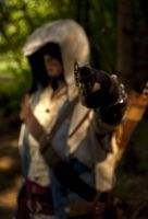 Connor Kenway aiming at you by eyes1138