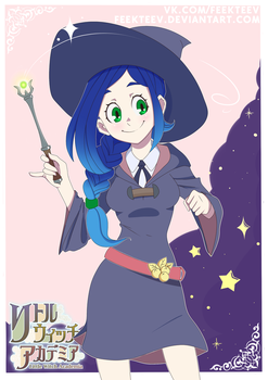 Blueberry in Little Witch Academia by feekteev