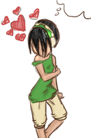 Toph Quicky by skribble1992