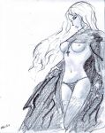 Luis Royo fan sketche 8 by NitenNoYume